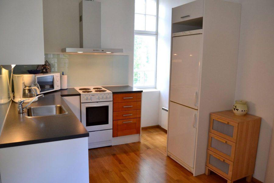 villa baumgartner guesthouse kitchen