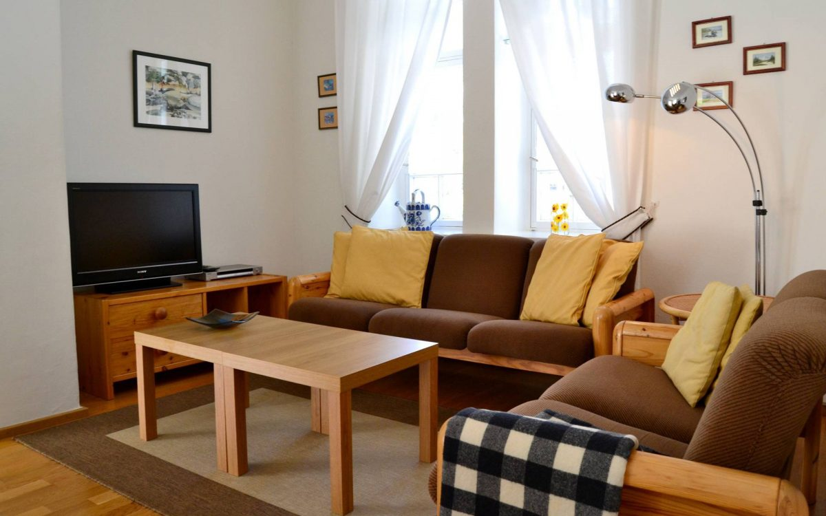 villa baumgartner guesthouse living area